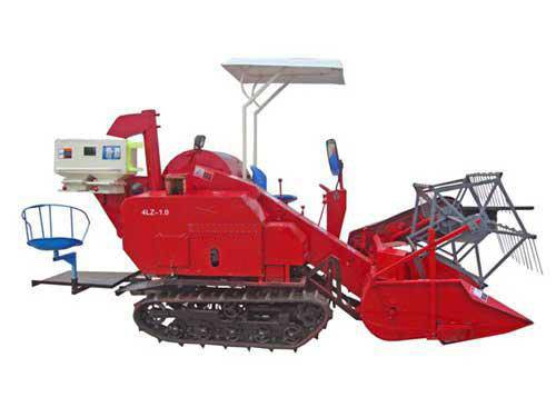 4LZ-1.0 small-sized combine harveter