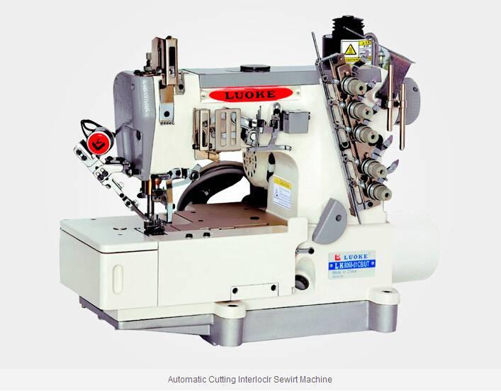 LK-8068-01CB Automatic Cutting Interloclr Sewirt Machine