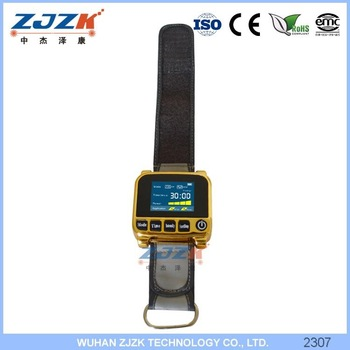 digital blood glucose 9 diodes laser watch handy cure laser therapy diabetic watch