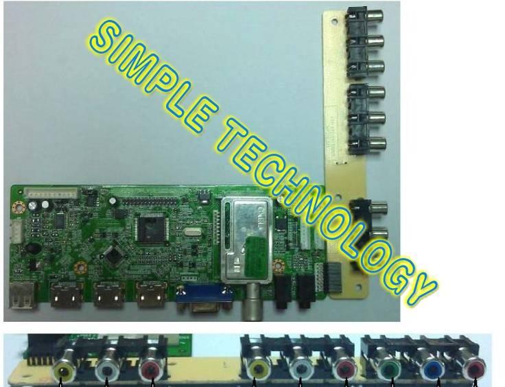 LED/LCD control board