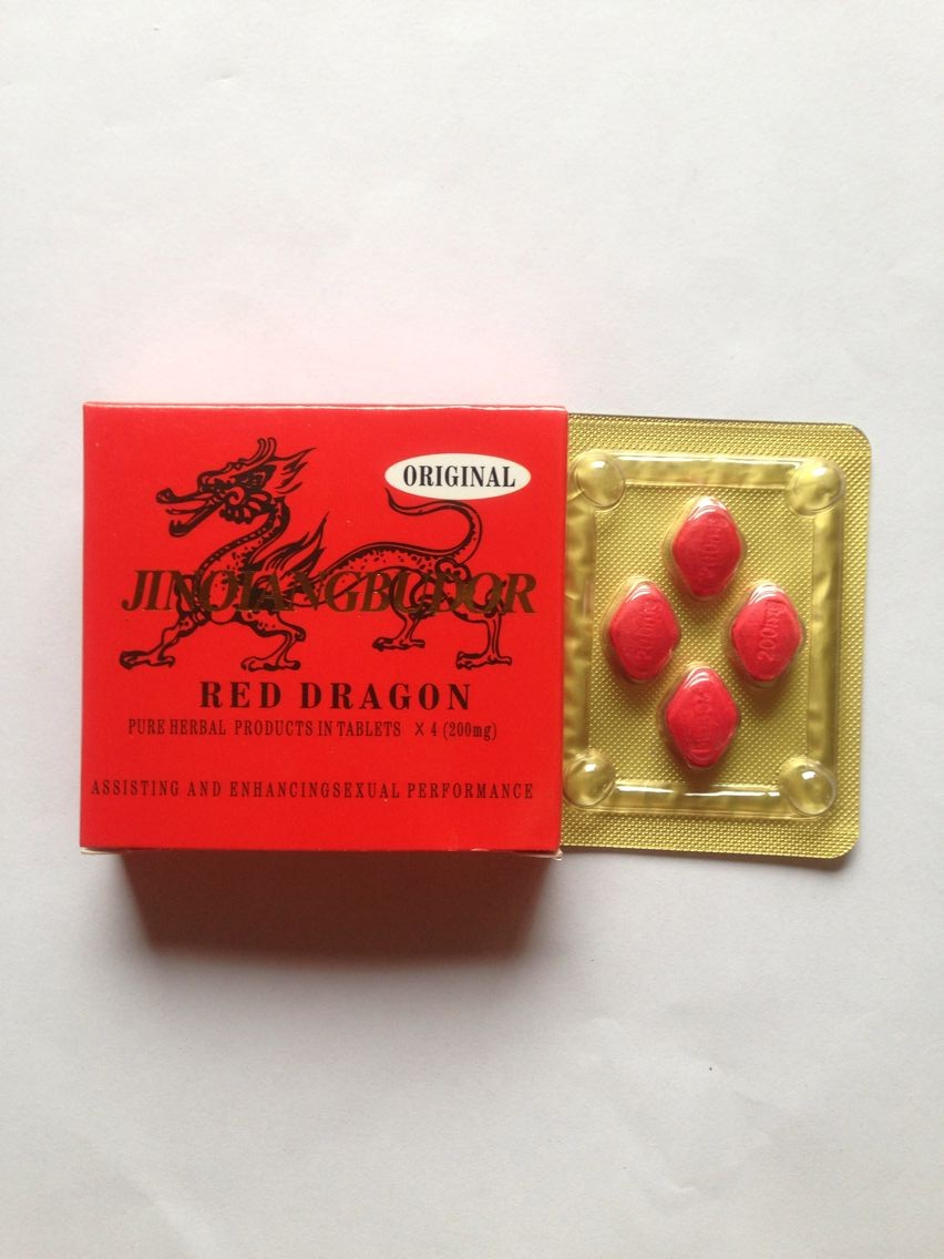 Original chinese no side effect red dragon sex adult product