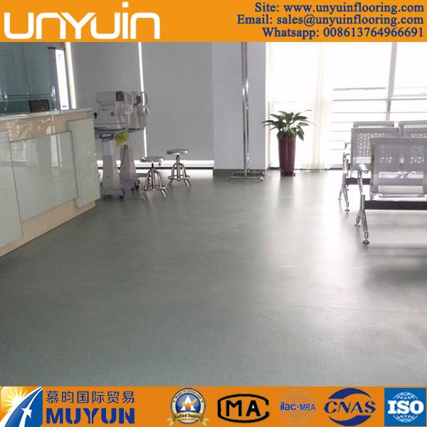Commerical Durable and Seamless Homogeneous PVC Vinyl Flooring