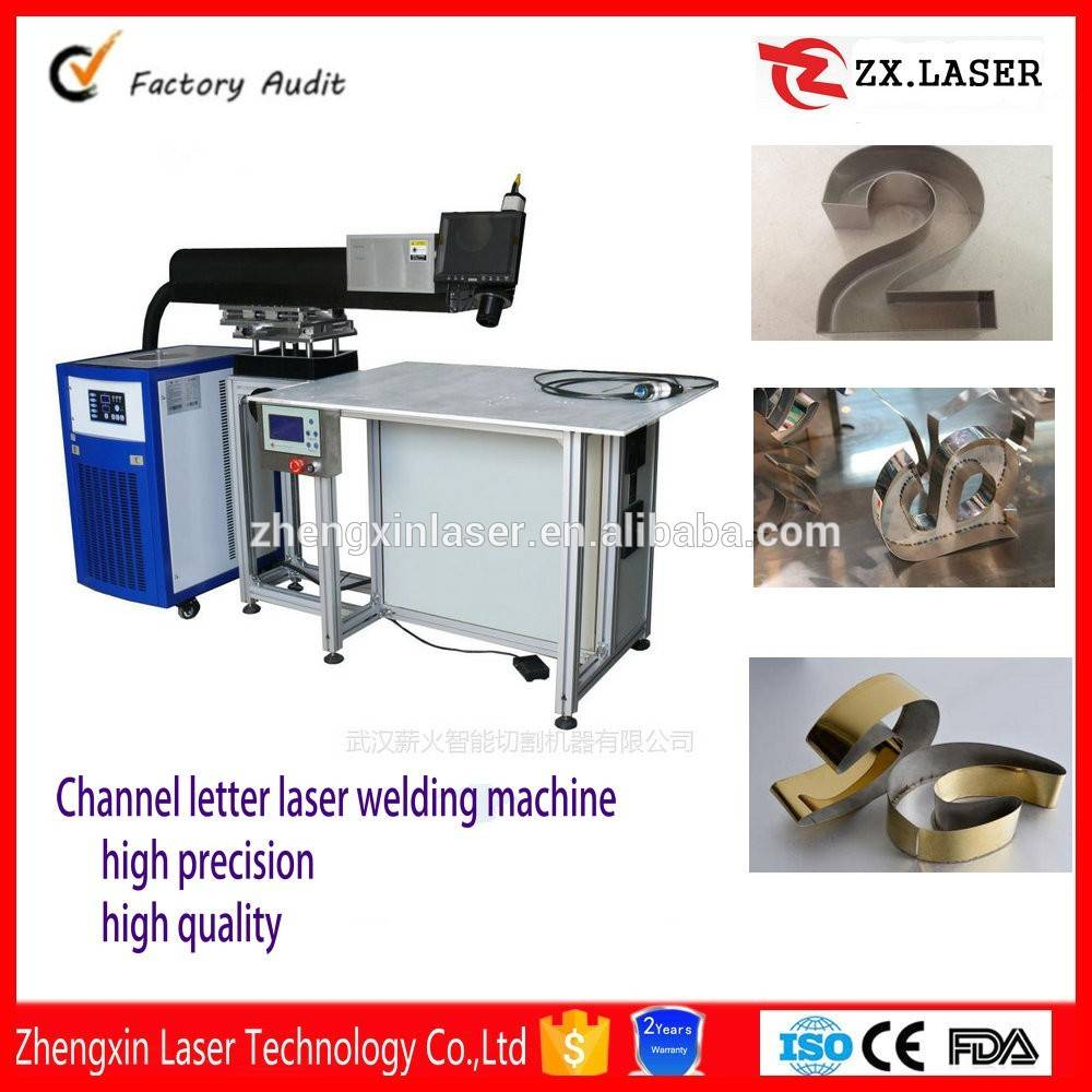 Channel letter laser welding machine