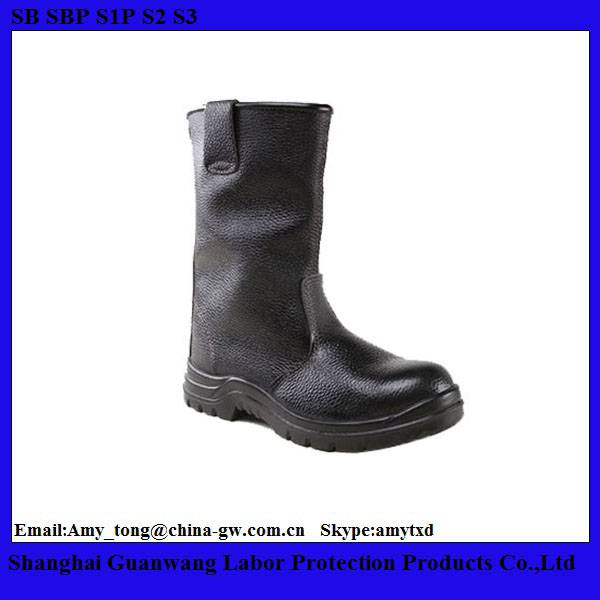 High Cut Safety Boots/Oil Resistant Safety Boots/Lightweight Safety Boots