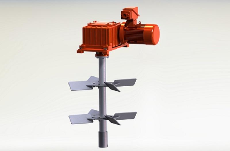 Slurry Recycling Horizontal Vertical Mud Agitator