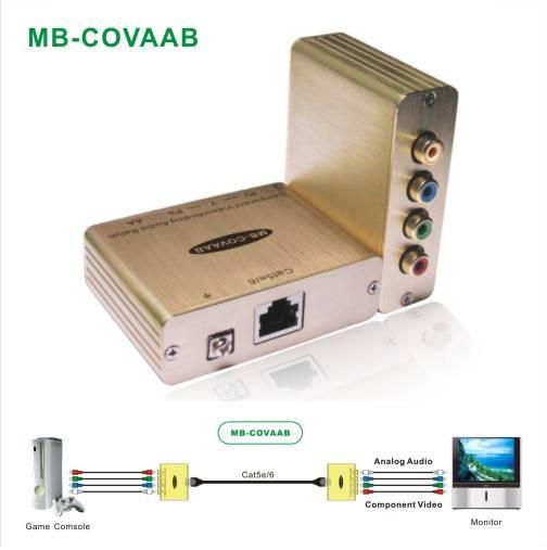 Component Video/Analog Audio Balun