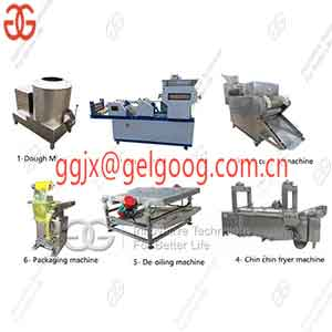 Automatic Chin Chin Making Frying Line|Nigerian Chin Chin Production Line
