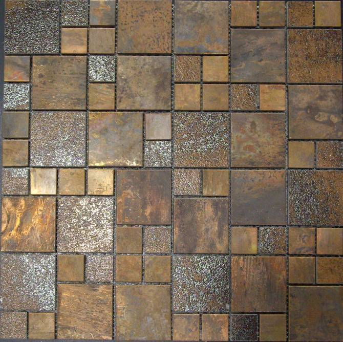 Antique copper tile MA001