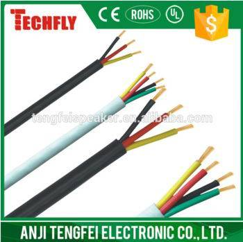 PVC insulated PVC Jacket soft cable(RVV)