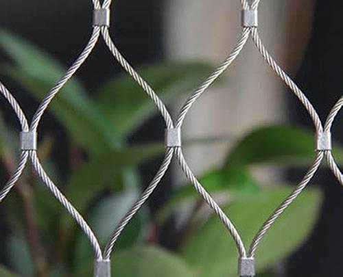 Stainless Steel Ferrule Wire Rope Mesh