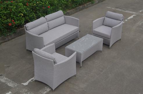 Muebles para Jardin sling sofa set textilene furniture