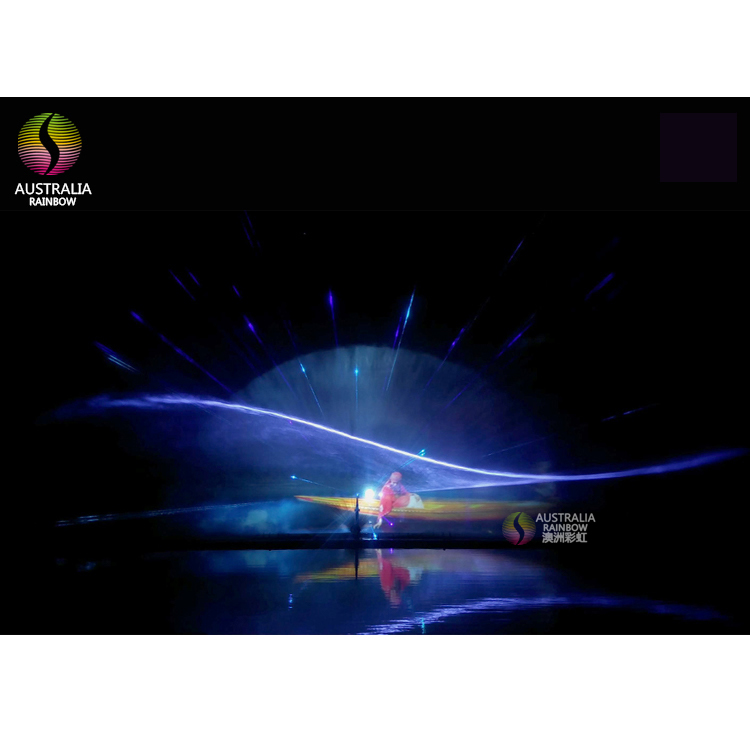 3D Water Projection 3D Hologram Water Screen Moive Laser Fountain
