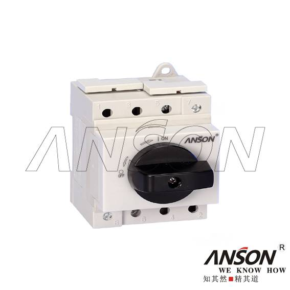 ASL4-006 DC Modular Isolator Switch without Enclosure for Photovoltaic