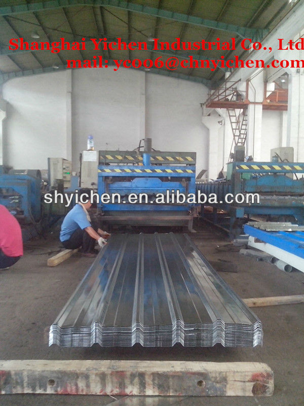 corrugated galvanized stainless steel roofing sheet