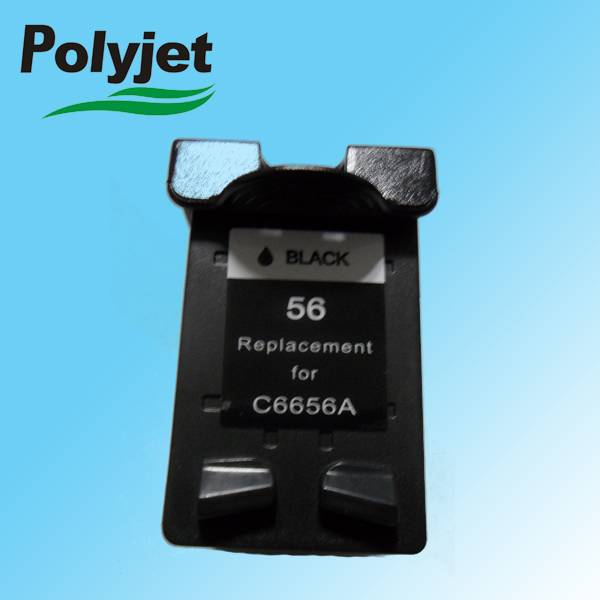 low price 56  C6656A ink cartridge for HP Deskjet 450/5150/5550/5551/5650/5850/9650/9670/9680 Color