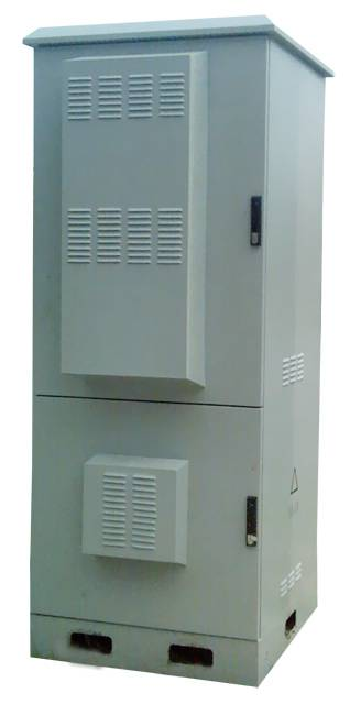DDTE011 Outdoor Telecom Enclosure with Separated Battery Compartment and Equipment Compartment