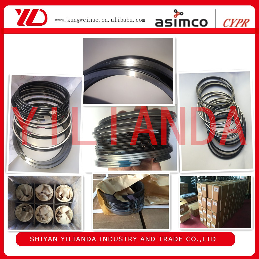 Top Quality of Original X15 CYPR Piston Ring 3685095 3685672 3691658