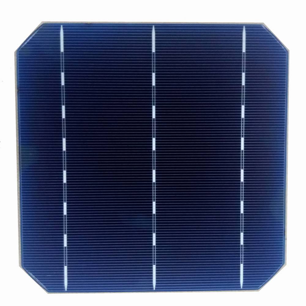 Monocrystalline Silicon 156*156mm 3BB High Efficiency Solar Cell