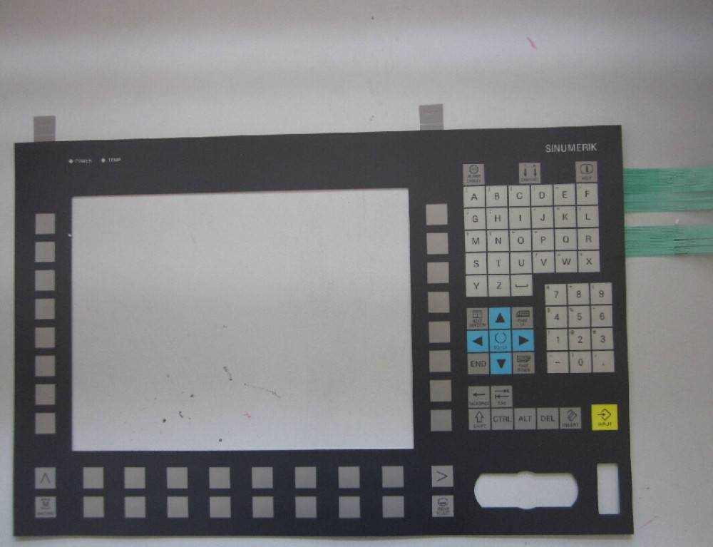 Membran keypad for OP 012 REPAIR