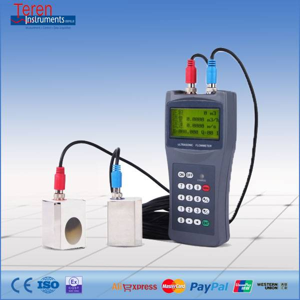 TDS-100H Hand Hold Ultrasonic Flowmeter