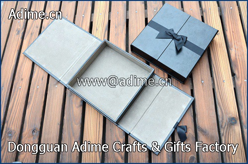 Fabric Linen Leather Wedding Photo Album Packaging Gift Box
