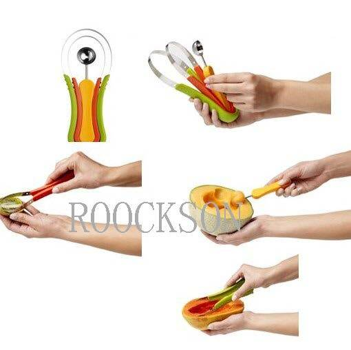 Multi-Function Stainless Steel Vegetable and Fruit Peeler Parer