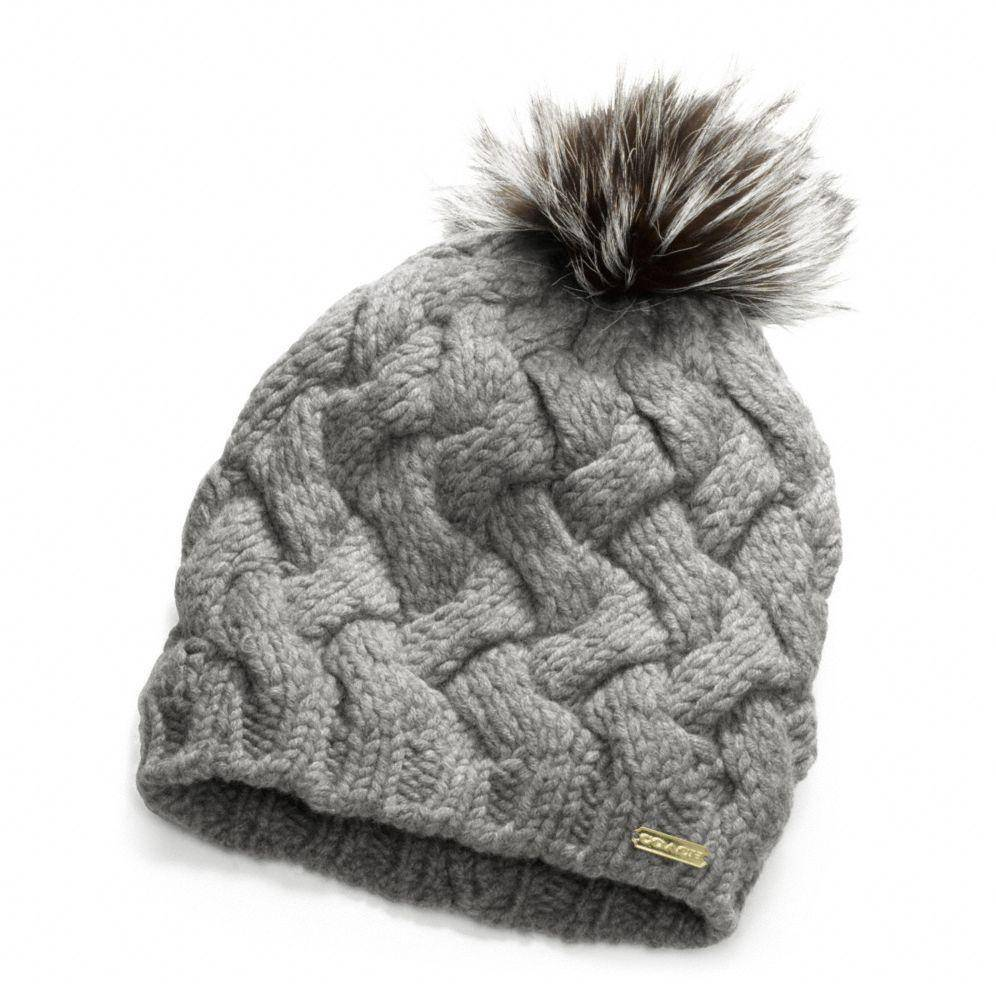 Women knitted beanie hat for sale