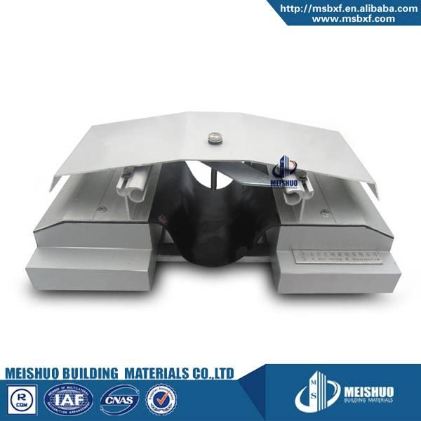 Roof waterproof aluminum metallic expansion joint