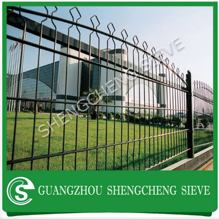 Anti-corrosion long useful life decorative welded wire fence security front yard fence
