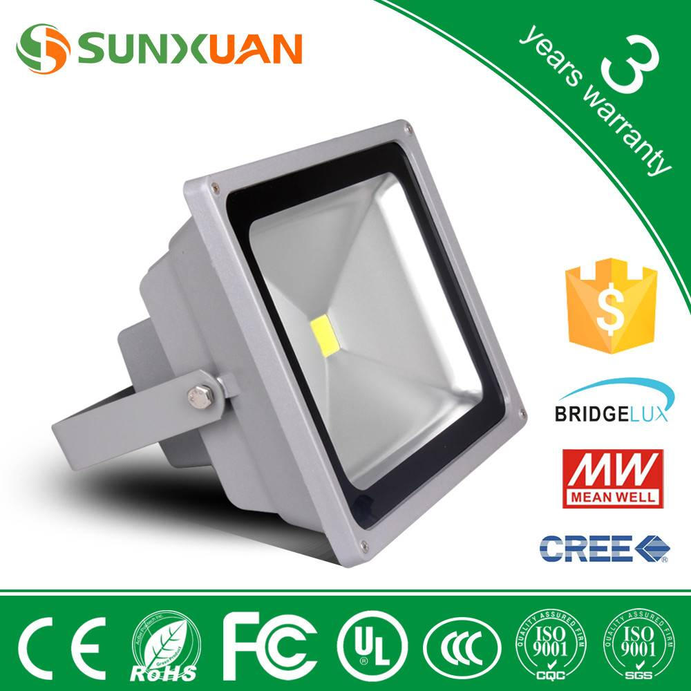 high power dimmable led outdoor flood lighting for christmas decoration 50w led flood light