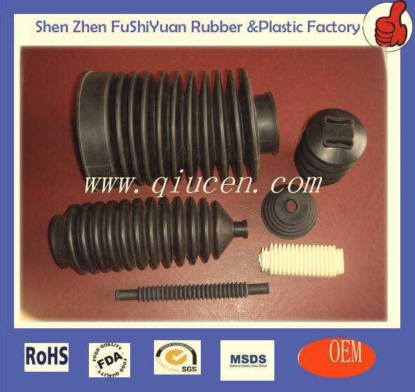 Silicone rubber bellows dust boots
