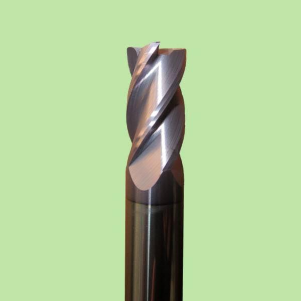 Solid Carbide Corner Radius End Mill