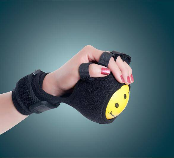 Finger Device Training Equipment Finger Wrist Hand Orthosis With Ball Stroke