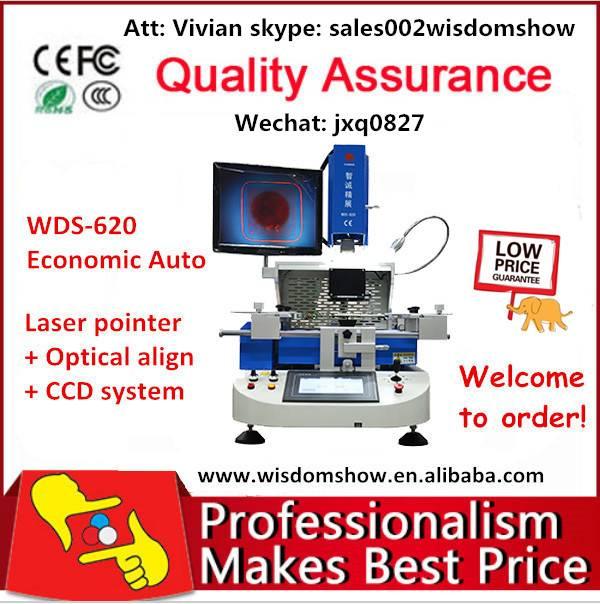 High Performance ! economic bga rework station WDS-620 for laptop motherboard rework
