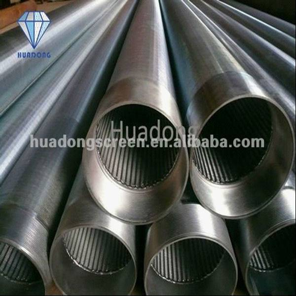 HuaDong SS304 Johnson Water Well Screen Pipe(factory)
