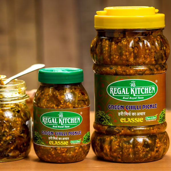 Green Chilli Pickle (Classic) - 1kg