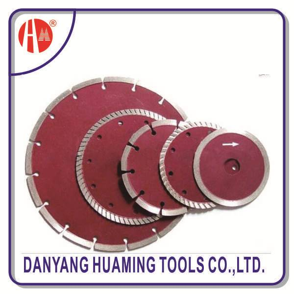 factory high quality tile and marble power tool segmented diamond saw blade for masonry,brick,block,