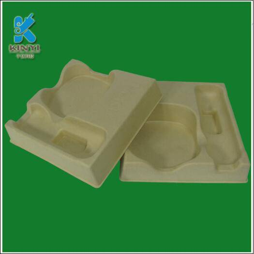 Factory made Biodegradable recyclable electronic pulp packaging