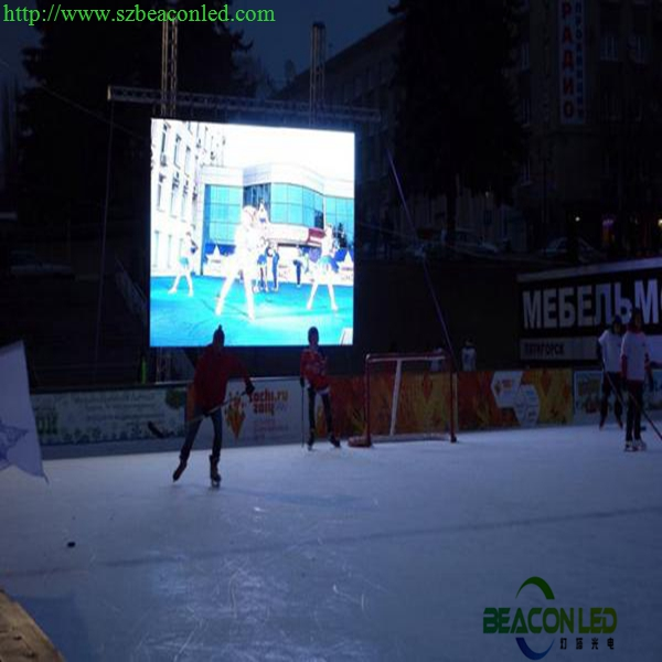 P6 large outdoor advertising LED display screen