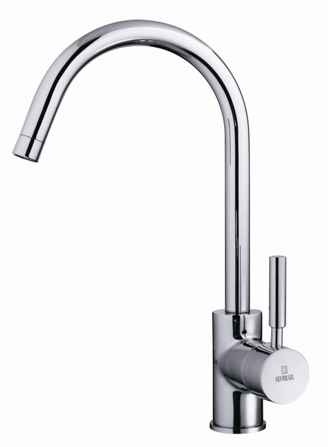 Brass Square Kitchen Faucet LD14831