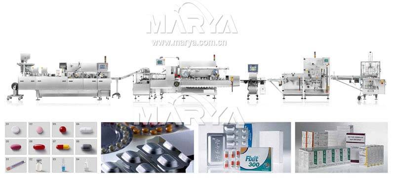 Automatic Al-Plastic Blister Packing Line