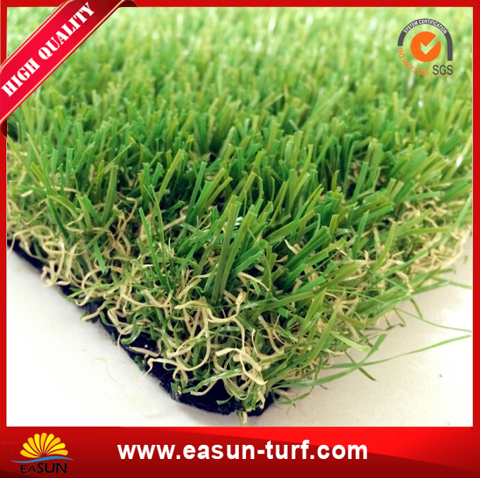 Synthetic lawn and C shape artificial grass for garden-AL