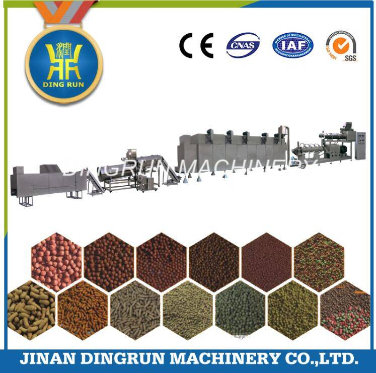floating fish feed pellet production machine