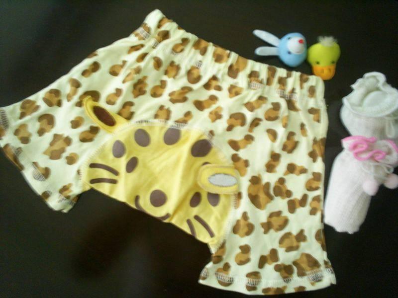 baby printed pants