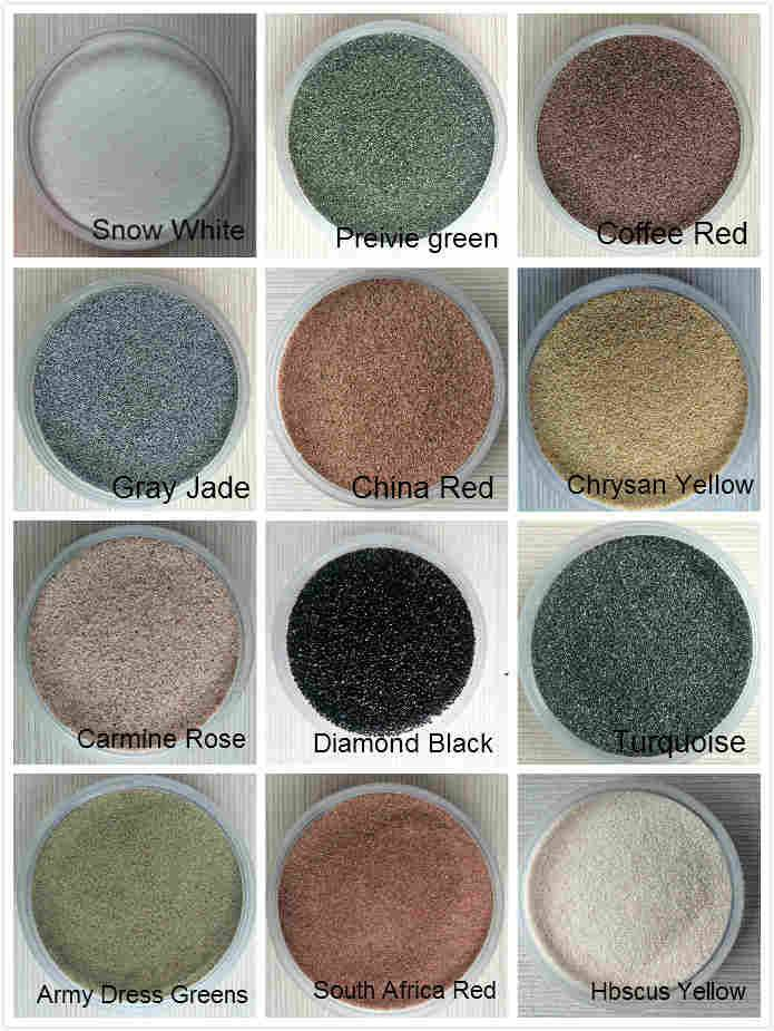 Cheap Fine Natural Colored Sand for construction/Weeding architectural decorative/Industry