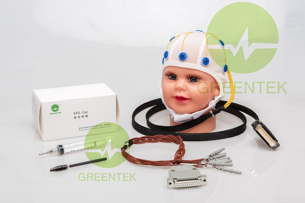 Greentek neonate Infant EEG recording caps