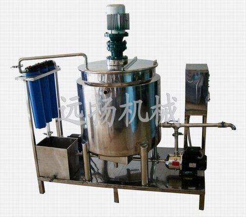 stainless steel reaction vessels for shampoo making