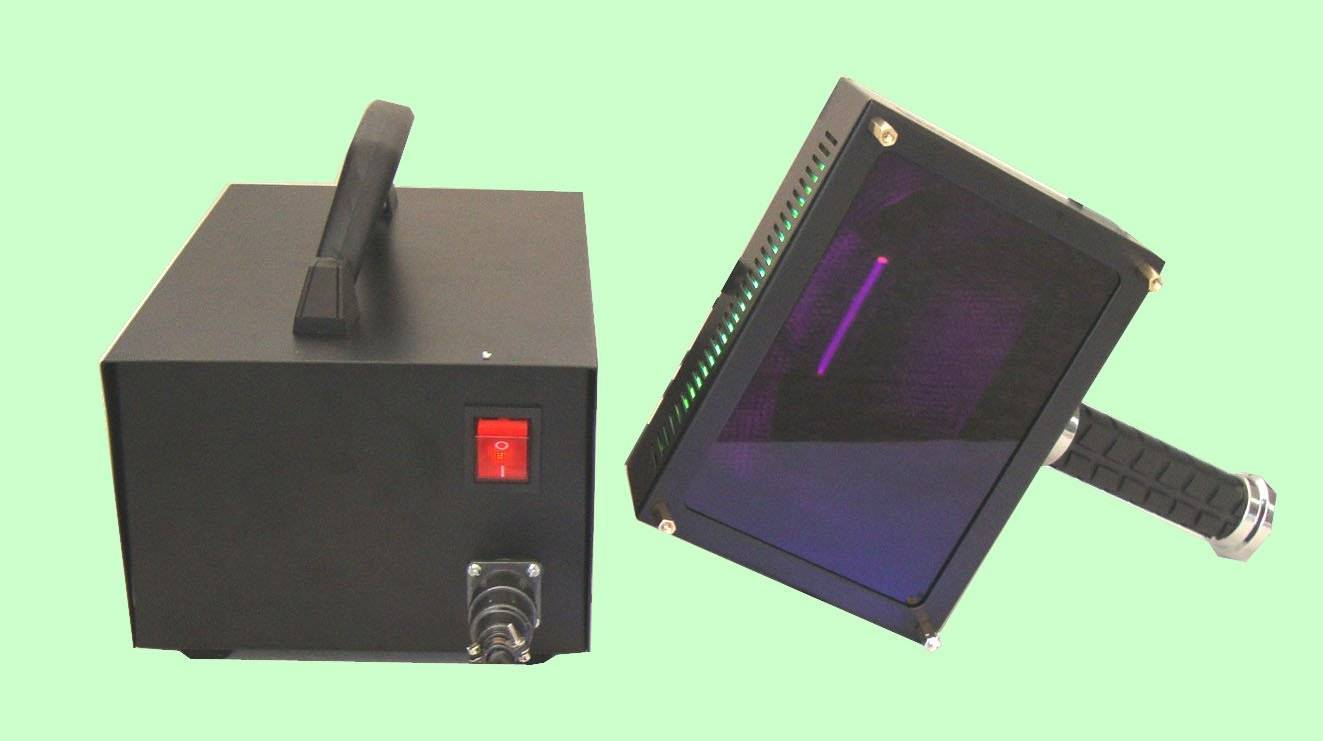 Test Portable UV Curing Machine For Glass Furniture