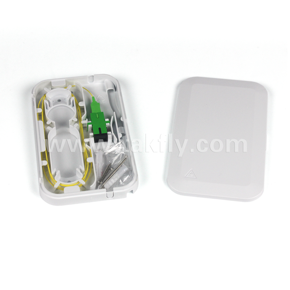 Product Description Fiber Optic termination box, is used as a termination point for the feeder cable