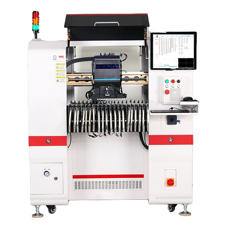 Desktop pick and place machine for SMT with 6 nozzles, chip mounter SMT-Pi6